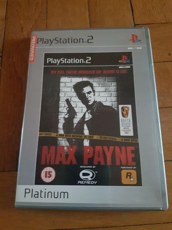 Max Payne PS2. Gry na konsole PS2 Max Payne