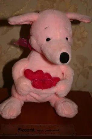 игрушка влюбленный Лисенок говорящий о любви День святого Валентина