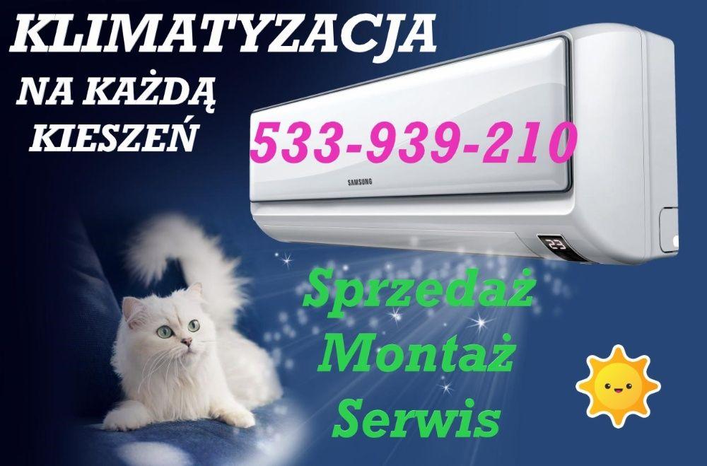 KLIMATYZACJA Z GRZANIEM od 2199 Montaż klimatyzacji Serwis Ogrzewanie! Toruń - image 1