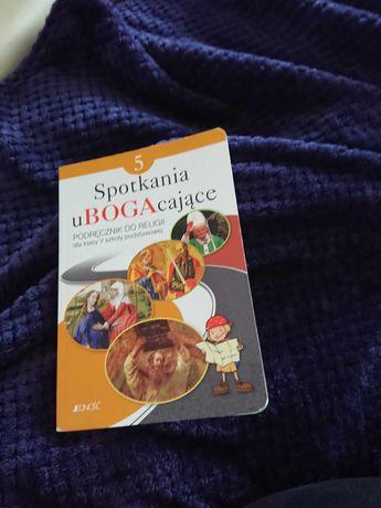 Podręcznik do religii dla klasy 5 Spotkania ubogacające