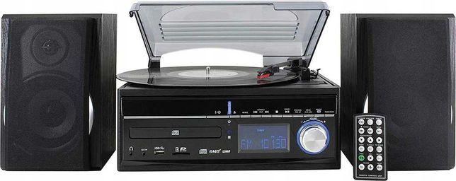 Soundmaster MCD1700 wieża radio magnetofon gramofon płyt CD USB SD AUX