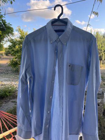 Camisa azul Tommy Hilfiger (para homem)