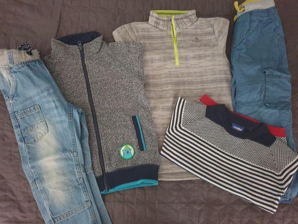 Ubrania dla chłopca rozmiar 110 PAKA