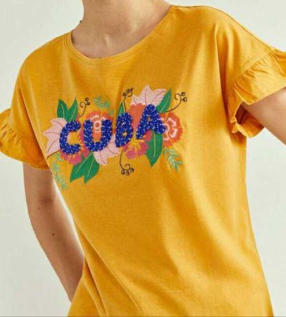 T-shirt SPRINGFIELD - M - Nova
