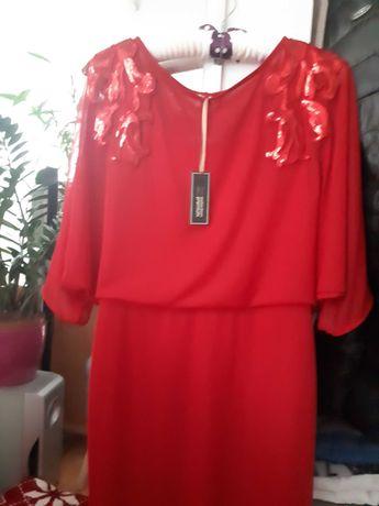 Nowa sukienka  czerwona .