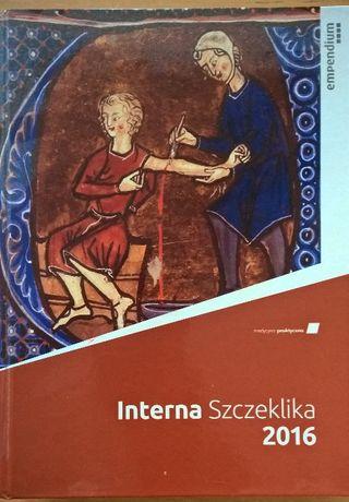 Interna Szczeklika 2016 oprawa twarda, duży podręcznik