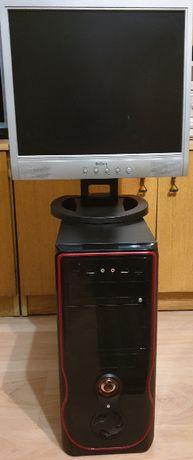 Komputer - stacja bazowa i3/4GB RAM/500GB, monitor i głośniki