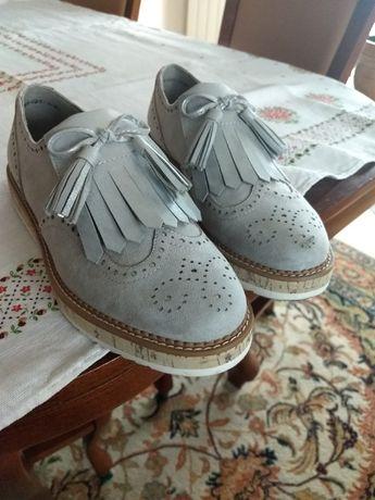 Pantofle, Buty z kolekcji Margaret NOWE R.39