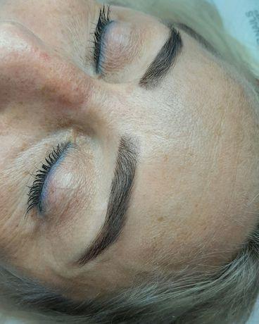 Henna pudrowa brwi