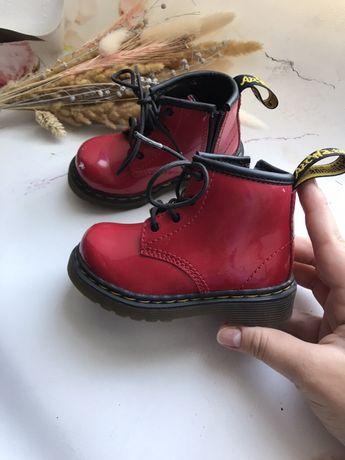 Ботинки для девочки 13 см стелька