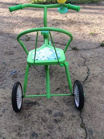 Детский велосипед гномик