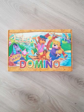 Gra dla dzieci domino maxi