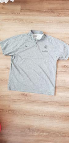 Koszulka ARSENAL polo Puma szara 3XL