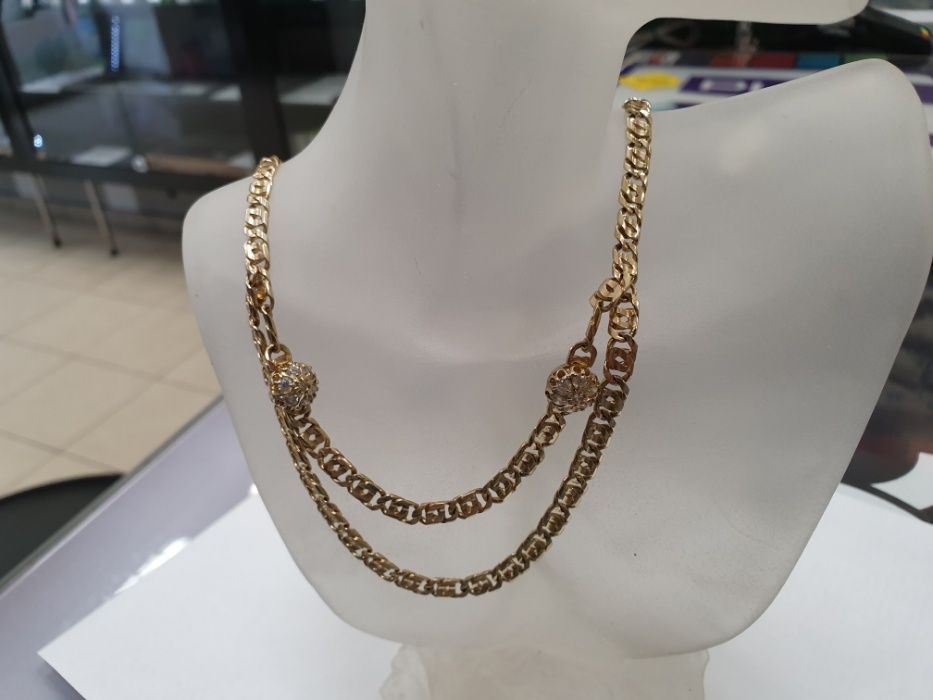 Unikatowy! Przepiękny złoty łańcuszek damski/ 585/ 36.8 gram/ 44cm Gdynia - image 1