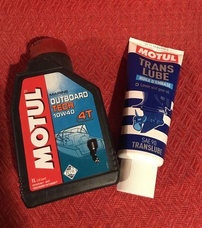 """Моторное масло ,,MOTIL""""и в двигатель и редуктор"""