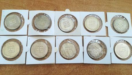 Moneta srebrna srebro monety srebrne 200 zł mapka zestaw 10 szt.