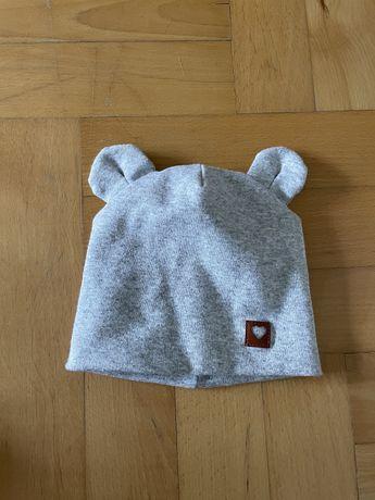 czapka z uszkami jesienna
