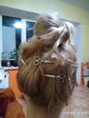 Шпильки ножницы для волос