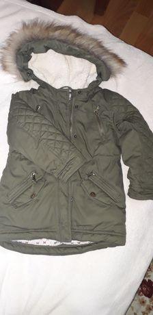 Куртка парка дівчинка 3-4 р єврозима деми