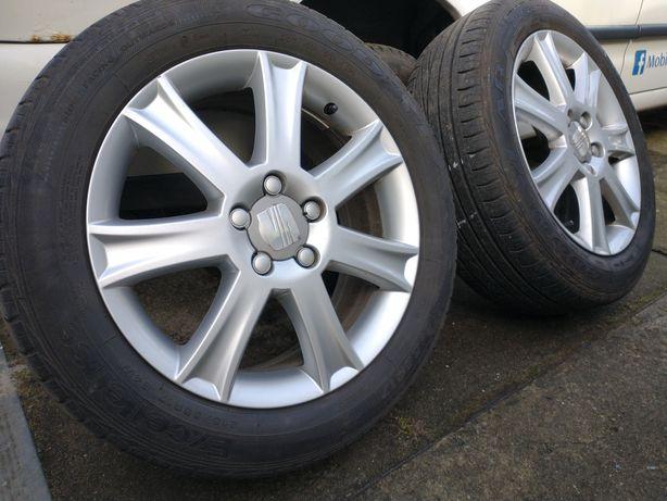 Sprzedam koła Ronal komplet 215/55/17 Seat VW Audi