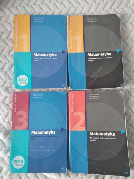 Matematyka podręcznik / zbiór zadań (klasa 1,2,3)