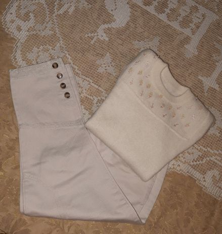 Camisola e calças de menina, linda e única! Oferta de portes