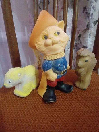 Резиновые игрушки времён ссср