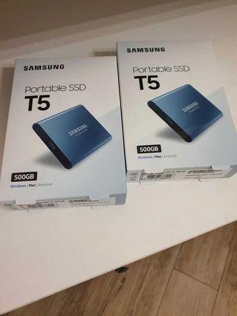 Dysk zewnętrzny SSD SAMSUNG T5 500GB