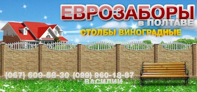135 грн Еврозабор Полтава