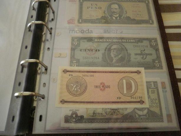 CUBA 7 Notas 6 São Novas - Não CIirculadas e 1 MUITO BEM CONSERVADA