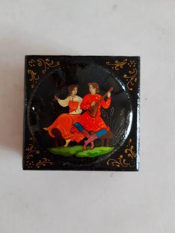 Шкатулка, расписная коробочка для украшений, подарок