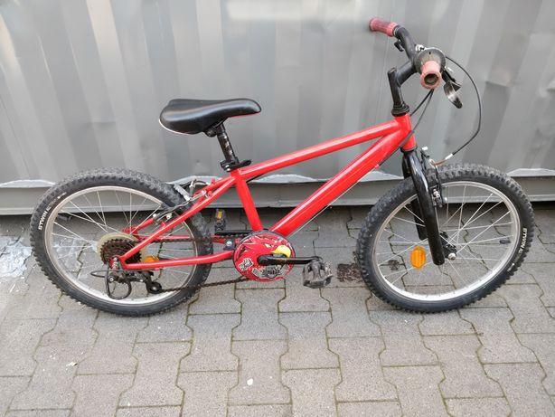 """B'Twin Rockrider Racing Boy 20"""" rower dziecięcy"""