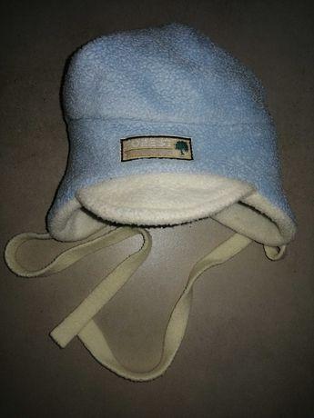 Czapka/ czapeczka zimowa polarowa dla niemowlaka