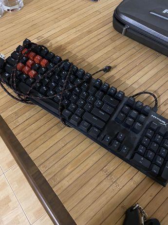 Клавиатура HyperX alloy fps mx red