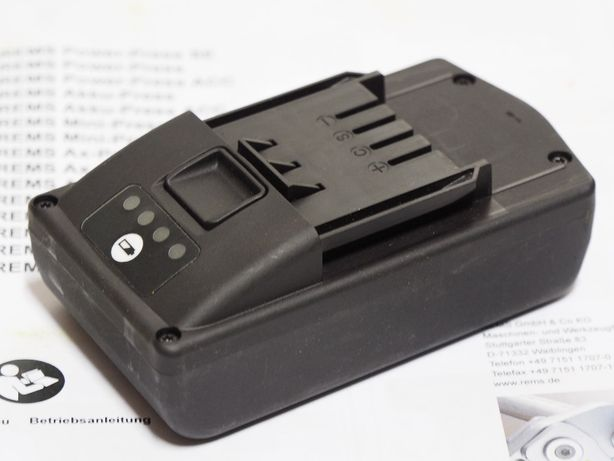 REMS MINI PRESS akumulator 22v 1,6Ah bateria prasa zaciskarka roller