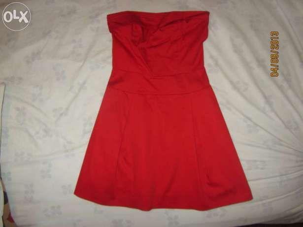 Vestido elegante vermelho