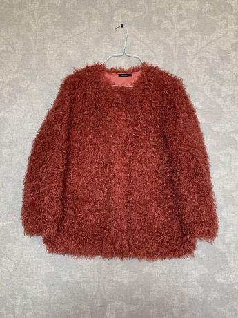 Двусторонняя куртка-шубка бренда Max&Co Max Mara, Италия, размер 38,М