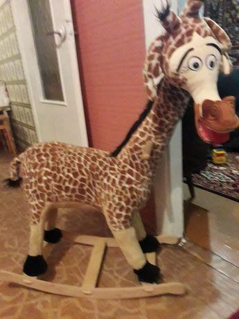 Жирафа качалка в ідеальному  стані