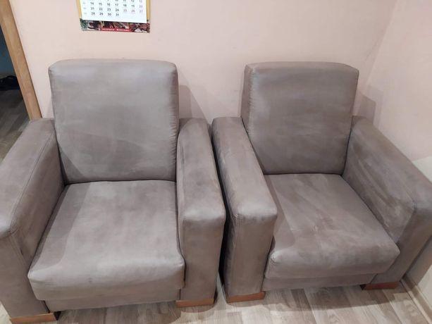 Sofa rozkładana plus 2 fotele