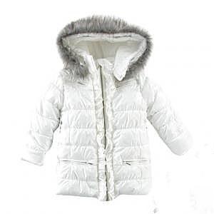 WÓJCIK j.NOWA -30stopni do +10 kurtka zimowa biała  płaszczyk 134