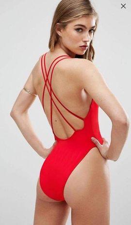 Новый сдельный цельный монокини купальник брендовый Asos Zara H&M