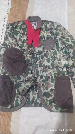 Куртка мужская камуфляж! Со съёмной желеткой!! Теплая и очень стильная