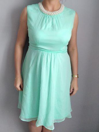 Sukienka Orsay miętowa