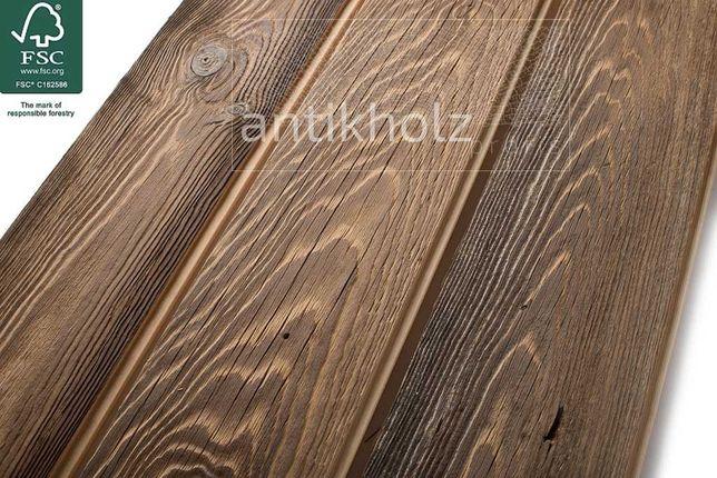 Stare deski, Pióro-wpust, stare drewno z certyfikatem FSC