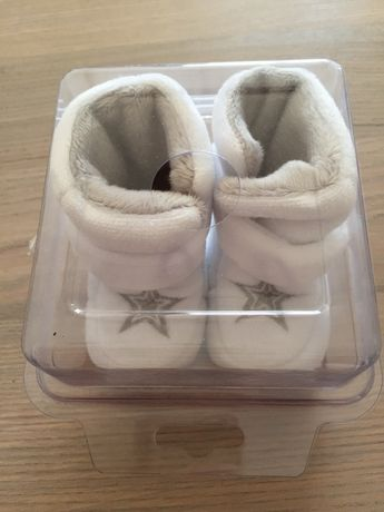 Buciki zimowe niemowlak