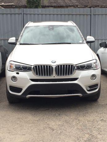 BMW X3 2016 накладка переднего бампера 51117338544