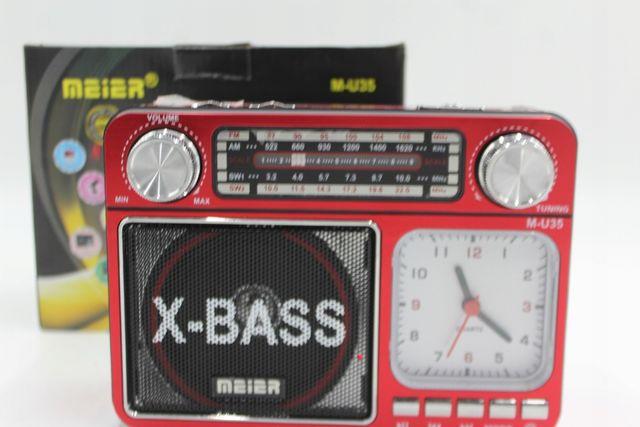 RADIO FM BUDOWLANE Z Akumulatorem USB AUX SD MP3 xbass niemiecka jakoś