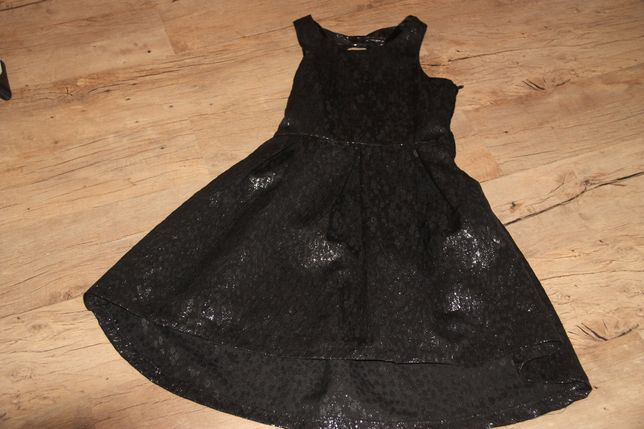 Sukienka H&M, M błyszcząca