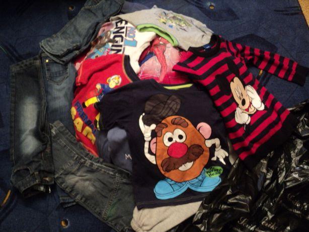Детская одежда Секонд Хенд Second от 1 кг регланы свитера футболки