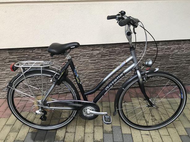 """Rower miejski/damka Gazelle Cayo 28"""" 57cm Shimano 3x7"""